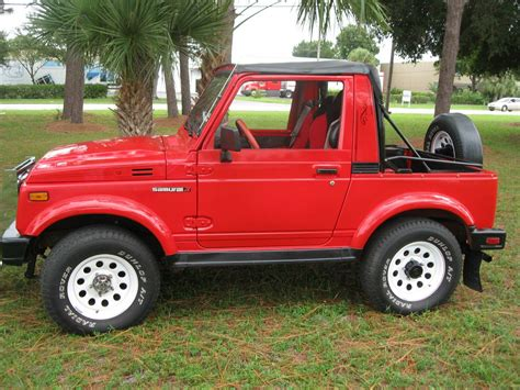 Suzuki Samuri For Sale by 1986 Suzuki Samurai Convertible For Sale In Largo Florida