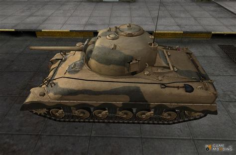 the skin for the m4 sherman remodel for world of tanks