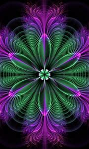 Flowery | Fractal art, Abstract flowers, Abstract
