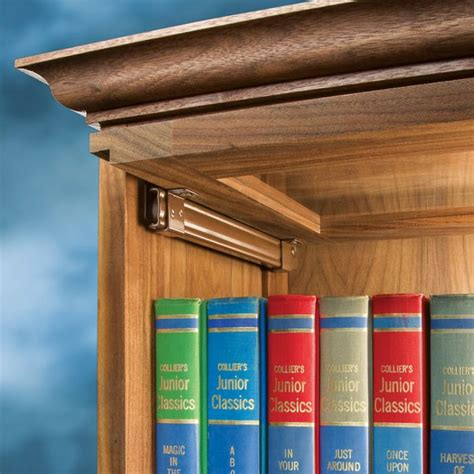 barrister bookcase door