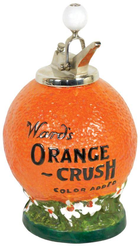 syrup dispenser ward s orange crush color added