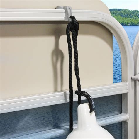 Boat Fender Hangers by Max 3005 5002 Boattector Pontoon Rail Fender
