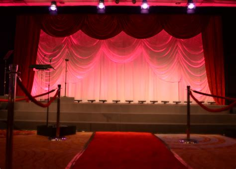 awards stage set national sales meeting corporate event planners event management and