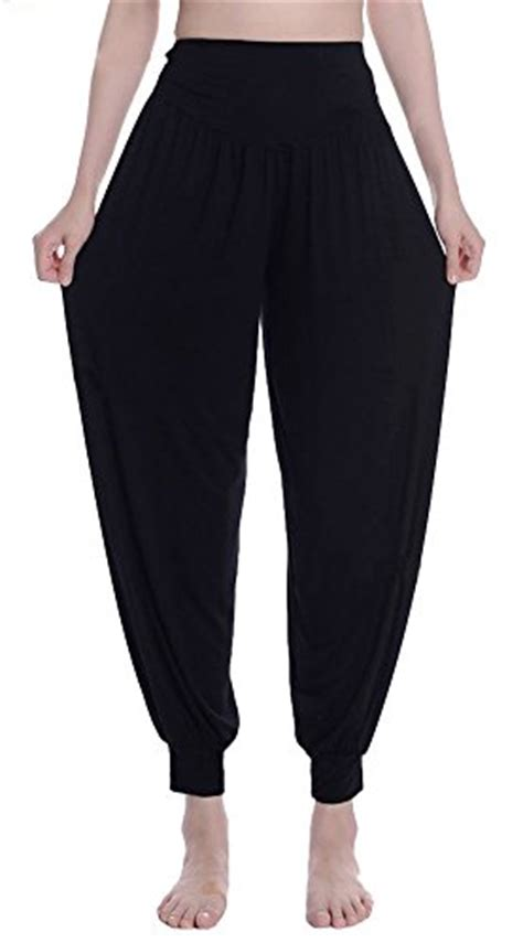 urban coco womens solid color soft elastic waistband
