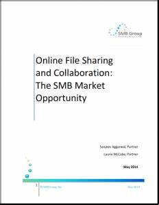 online file sharing and collaboration the smb market With document sharing and collaboration