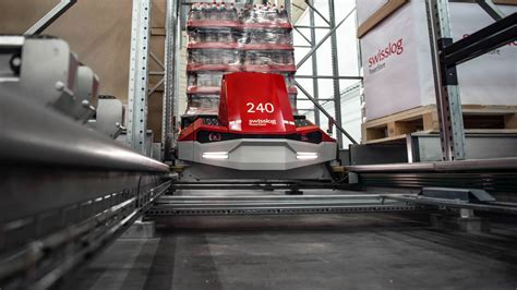 swisslog powerstore high density pallet shuttle system