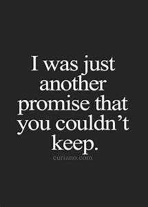 The 25+ best Broken promises quotes ideas on Pinterest ...