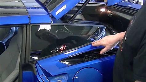 install  american car craft  corvette rear
