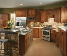 black kitchen island with granite top birch kitchen cabinets aristokraft cabinetry