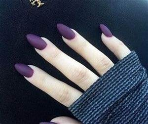 Purple Matte Nails Pictures, Photos, and Images for ...