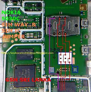 Free Mobile Phone Diagram And Solution  Nokia 5030 1661