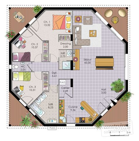 chambre avec salle d eau ouverte chambre avec salle d eau ouverte 10 maison octogonale
