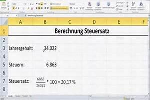 Mehrwertsteuer Berechnen Excel : video wie hoch ist mein steuersatz so k nnen sie es ausrechnen ~ Themetempest.com Abrechnung