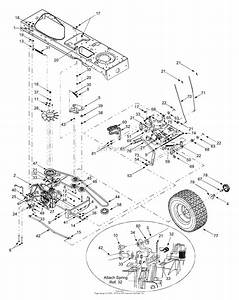 Mtd 13aq617h118  2003  Parts Diagram For Drive  Wheels Rear