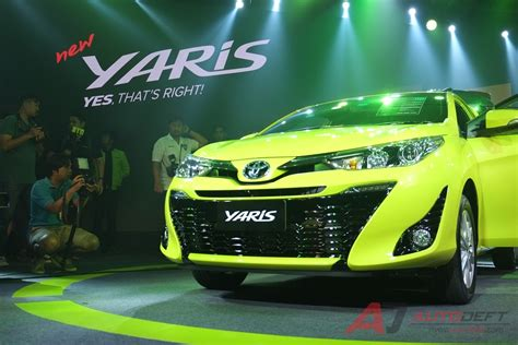 toyota thailand 2018 toyota yaris thailand live images grille indian