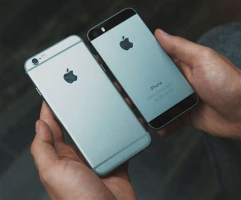 iphone 6s vergelijk 5s