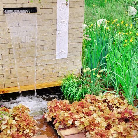 brunnen selber bauen wasserfall mit brunnen selber bauen 187 die besten ideen