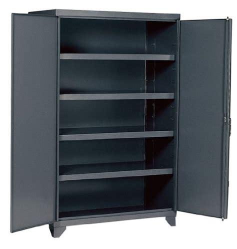 edsal economical storage cabinets edsal ehd7848 industrial gray 14 steel storage