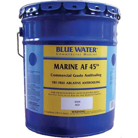 Bluewater Boat Paint by Blue Water Marine Paint Marine Af 45 5 Gallon West