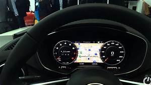 Audi Tt Virtual Cockpit Digital Dashboard And Laser Headlights