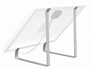 Fixation Panneau Solaire : support de fixation pour panneau solaire 30w kit ~ Dallasstarsshop.com Idées de Décoration