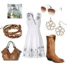 Country Outfits on Pinterest | Polyvore Barn Dance and Country Casual