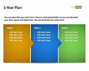 Free 3 year strategic plan powerpoint template free for It strategic plan template 3 year
