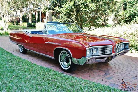 Really Beautiful 68 Buick Electra 225 Convertible As Nice