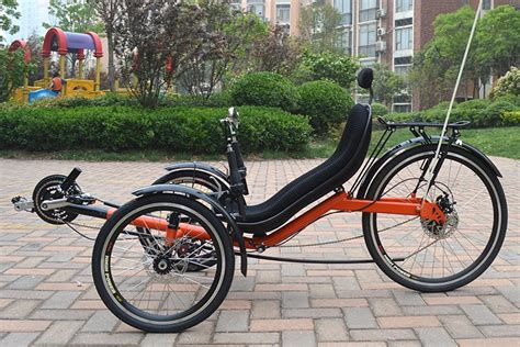 Three Wheeled Recumbent Adult Bicycles