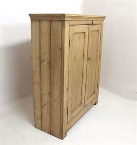 Pine Cupboard Door by 2 Door Pine Cupboard Antiques Atlas