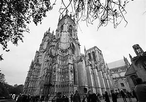 York 360 ~ A Photograph of York Minster (Black & White)