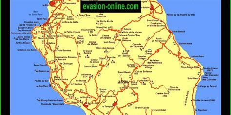La Réunion Carte Géographique Monde by Carte De La R 233 Union 187 Vacances Arts Guides Voyages