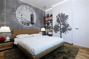 simple tricks to making small bedrooms appear bigger With what kind of paint to use on kitchen cabinets for wall art for mens bedroom