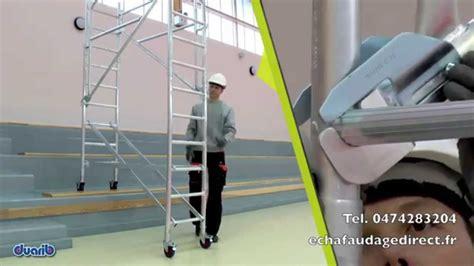 echafaudage pour escalier de 0 59m de large seulement