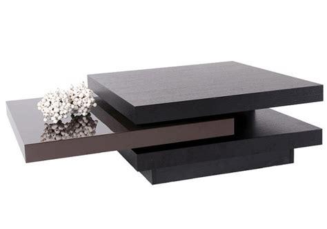 bureau wenge table basse pivotante wenge et laquee chocolat