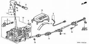 Select Lever For 2000 Honda Accord Cg5