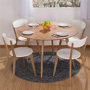 Table Ronde Ikea : ronde eettafel combinatie ikea eettafel en vier stoelen ~ Melissatoandfro.com Idées de Décoration