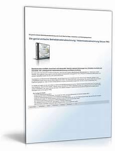Vordruck Für Nebenkostenabrechnung : betriebskostenabrechnung pro unter excel vorlage zum ~ Michelbontemps.com Haus und Dekorationen