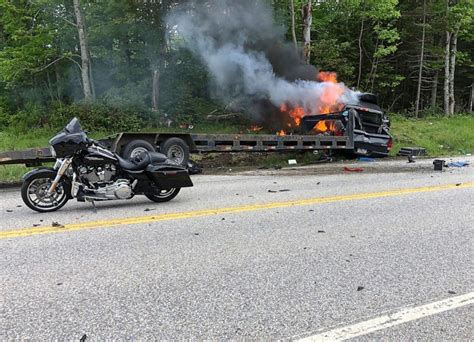 Driver Who Plowed Into Motorcyclists In New Hampshire