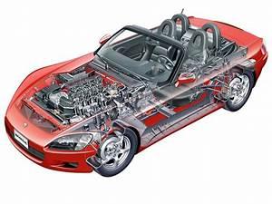Nsx And Honda F1  Other Cutaways