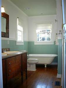 Claw foot tub blue beadboard bathrooms pinterest for Bead board in bathroom