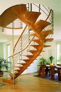 Pflanzen Im Treppenhaus : organische treppengestaltung l sst den innenbereich futuristisch erscheinen ~ Orissabook.com Haus und Dekorationen