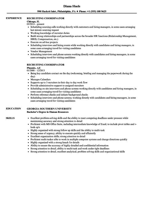Recruiting Coordinator Resume Samples  Velvet Jobs. 100 Free Resume Builder. Resume For Teacher Assistant. How To Make A Resume No Experience. Advanced Computer Skills Resume. Job Description Of A Teller For Resume. Accounting Resume Sample. Attached Is My Resume. Gaming Attendant Resume