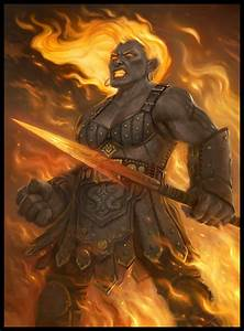 Fire Giant Barbarian - Pics about space