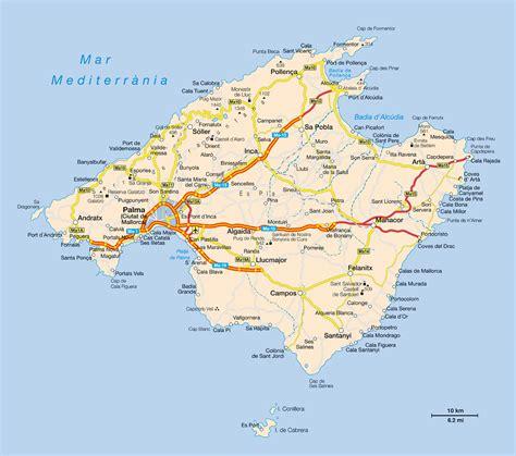 eBook Mallorca: Karten und Grafiken