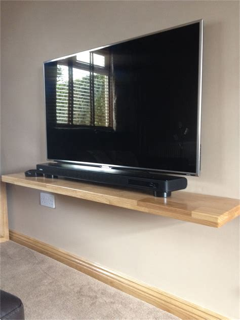Tv Regal Wand by Shelf Ideas For Wall Mounted Tv Next House Wall