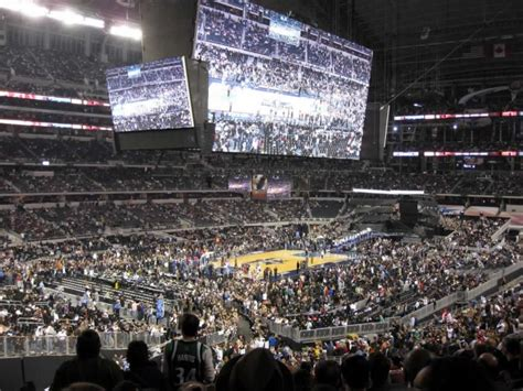 att stadium section  basketball seating