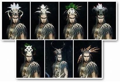 Skyrim Skull Bosmer Mods Headdresses Tdn Requirements