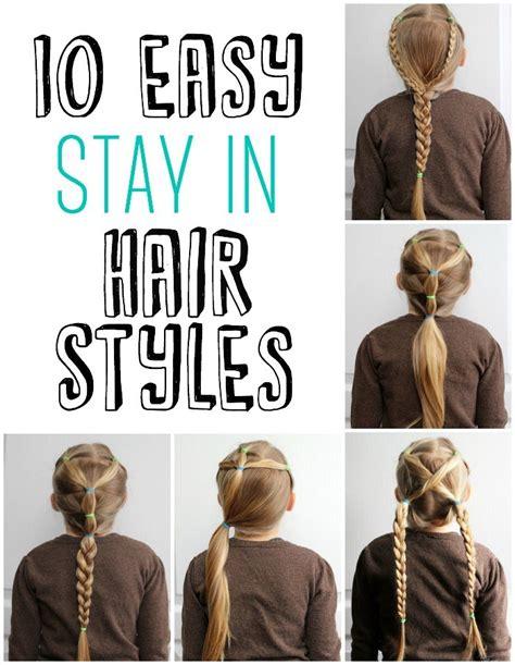simple n easy hair style 5 minute school day hair styles fynes designs fynes 6114