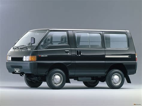Mitsubishi Delica Backgrounds by Mitsubishi Delica Wagon 4wd 1986 90 Wallpapers